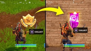 SECRET BANNER WEEK 6 SEASON 6 LOCATION! - Fortnite Battle Royale– WEEK 6 SECRET BATTLE STAR REPLACED