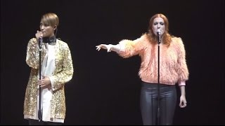"Icona Pop perform ""I Love It (feat. Charli XCX)"" at the Michalsky StyleNite"