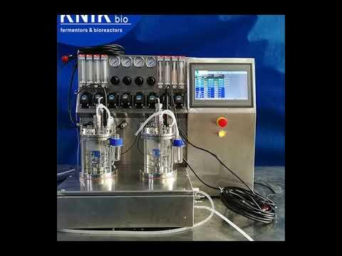 China Stainless Steel Bioreactors Fermenters CGMP Company
