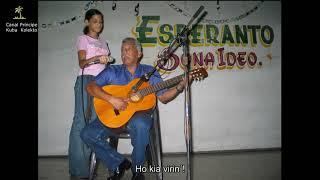 HÉCTOR JIMÉNEZ  DE CUBA / KONVERSACIO EN TEMPO DE BOLERO / El bolero en Esperanto