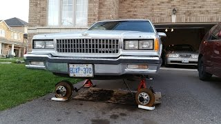 1986 Chevy Caprice Coupe - Lowrider Project Part 9