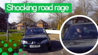 Road Rager Confronts Driving Instructor in Bizarre Outburst