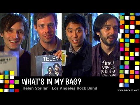 Helen Stellar - What's In My Bag?