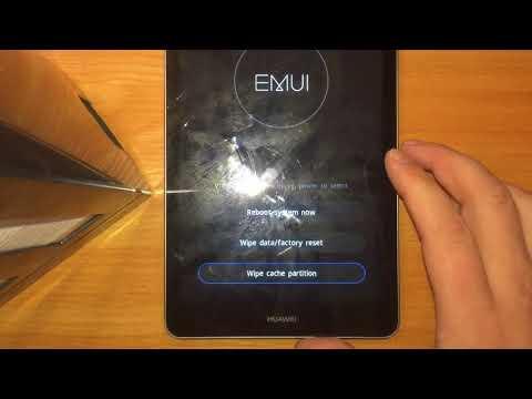Как снять пароль и графический ключ на планшете хуавей L09, сбросить Настройки