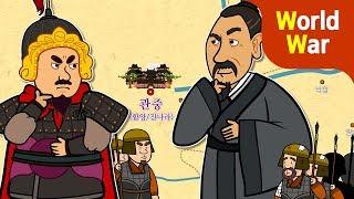 [전쟁사] 초한전쟁: 항우 vs. 유방   관중의 왕은 누구   진시황제 죽음 후 중국의 패권 다툼   초한지★지니키즈 역사