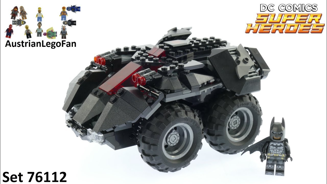 Lego set Lego Batman # 76112 Lego Batman Mobile App Controlled Batmobile
