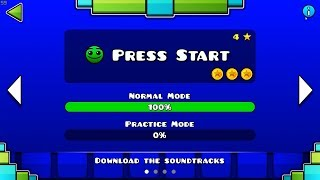 Скачать Geometry Dash SubZero Press Start 100 Complete All Coins GuitarHeroStyles