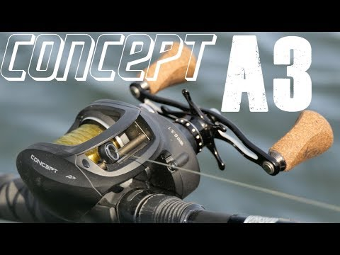 13 Fishing's Swimbait Reel - The Concept A3