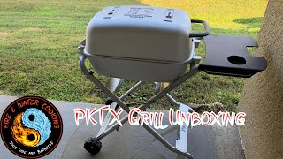 Unboxing the PK Grills PKTX w/ Folding Cart - Portable Kitchen Grills