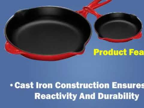 Le Creuset Enameled Cast Iron Panini Press & Skillet Grill Sets