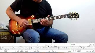 Video Solo Lesson/Cover #1 - Another Brick In The Wall  - Part 2 download MP3, 3GP, MP4, WEBM, AVI, FLV September 2018