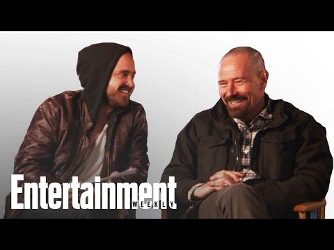 Breaking Bad: Bryan Cranston & Aaron Paul Play Dialogue Game   Entertainment Weekly