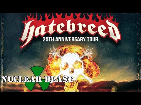 HATEBREED - 25th Anniversary Tour (OFFICIAL TRAILER)