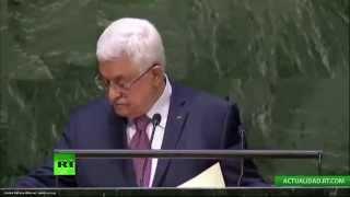 El discurso de Mahmud Abbas, presidente de Palestina, ante la ONU