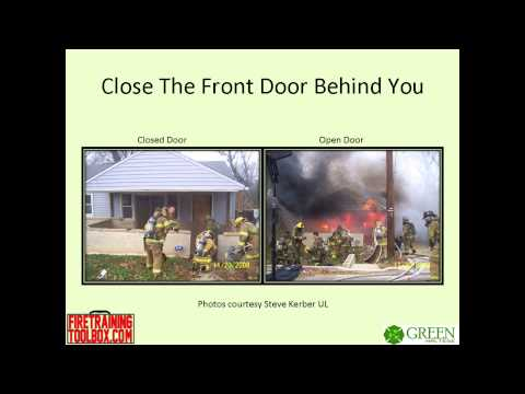 Close the door! A civilians guide to saving lives & property.