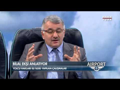 SHGM Genel Müdürü Bilal Ekşi Airport'a Konuk Oldu