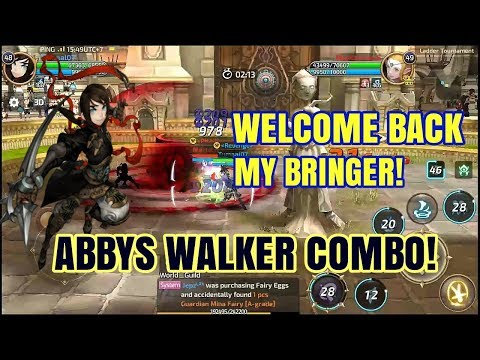 Combo Bringer (Abyss Walker) on Arena Ladder PVP - Dragon Nest M SEA