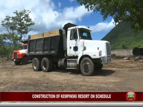 GIS Dominica Special Report: Construction of Cabrits Resort Kempinksi on Schedule