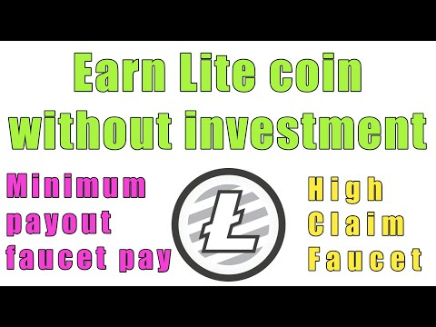 Earn Lite coin without investment/Instant payout faucet pay