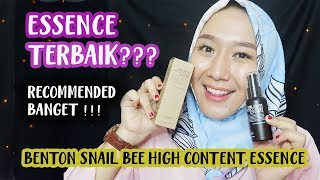 BENTON SNAIL BEE HIGH CONTENT ESSENCE REVIEW - BEST SKINCARE
