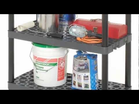Plano Plastic Shelving Units