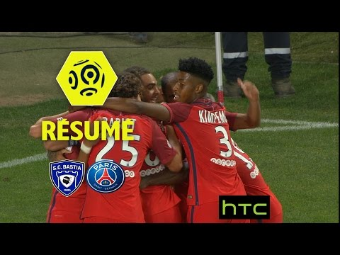 SC Bastia - Paris Saint-Germain (0-1)  - Résumé - (SCB - PARIS) / 2016-17