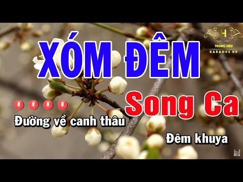 Karaoke Xóm Đêm Song Ca Nhạc Sống | Trọng Hiếu