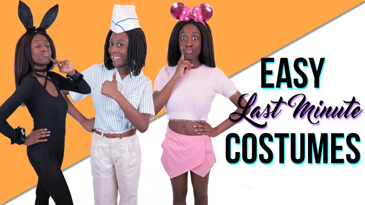 4 easy halloween costumes youtube