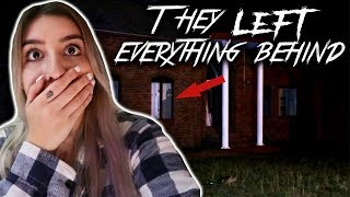 Family Had To Leave EVERYTHING BEHIND (INTENSE PARANORMAL ACTIVITY) **SCARY**