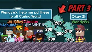 TROLLING CASINO USE KILLER GHOST PT3 (FUNNY) GROWTOPIA