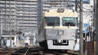 2018.01.20.伊予鉄道3000系3307F@古町