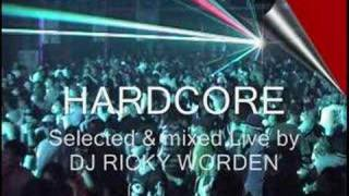 DJ Ricky Worden Mix Series Clip 37  - Old skool Hardcore rave