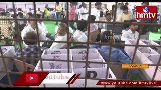 రేపు కరీంనగర్ కార్పొరేషన్ ఎన్నికల కౌంటింగ్ | Municipal Elections Results 2020 | Karimnagar | hmtv