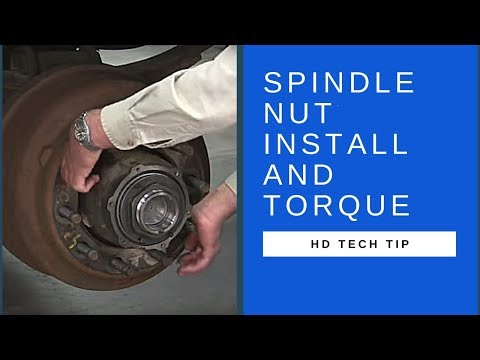 How To Properly Install And Torque An SKF Spindle Nut