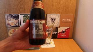 Beer Review - 2013 Timmermans Oude Kriek Belgian aged beer