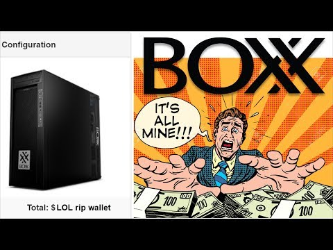 Boxx.com BUYER BEWARE, DISGUSTING Workstation Pricing!