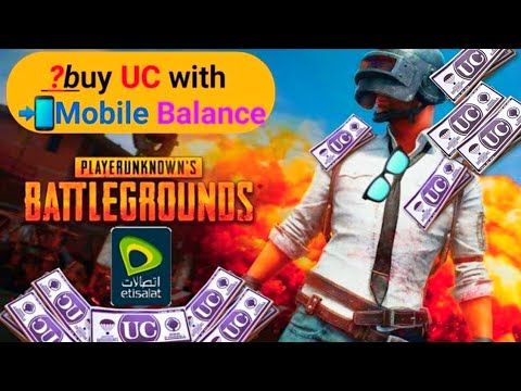 how to buy UC with sim balance in UAE from midasbuy| pubg k