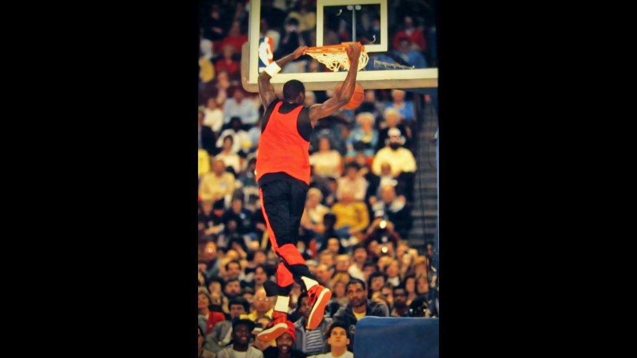 Michael Jordan Two Handed Cradle 1985