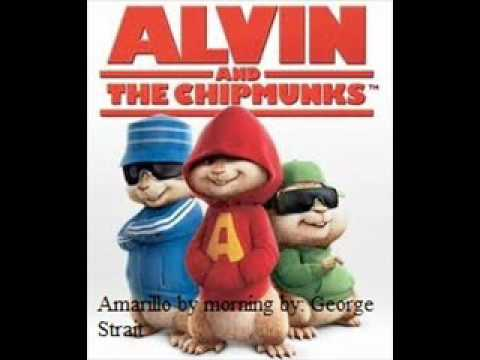 alvin and the chipmunks Amarillo by morning(George Strait).wmv