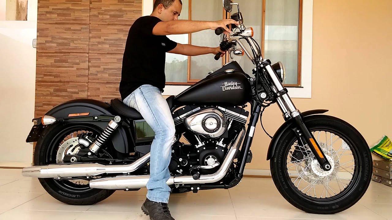 Harley Dyna Street Bob >> Dyna Street Bob Start up - YouTube