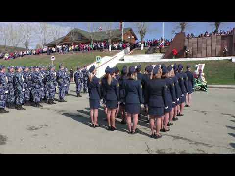 Парад, посвящённый 74 й годовщине Победы в Великой Отечественной войне. Ивдель 9 - мая 2019 .