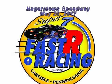 Super 7 at Hagerstown Speedway 052017