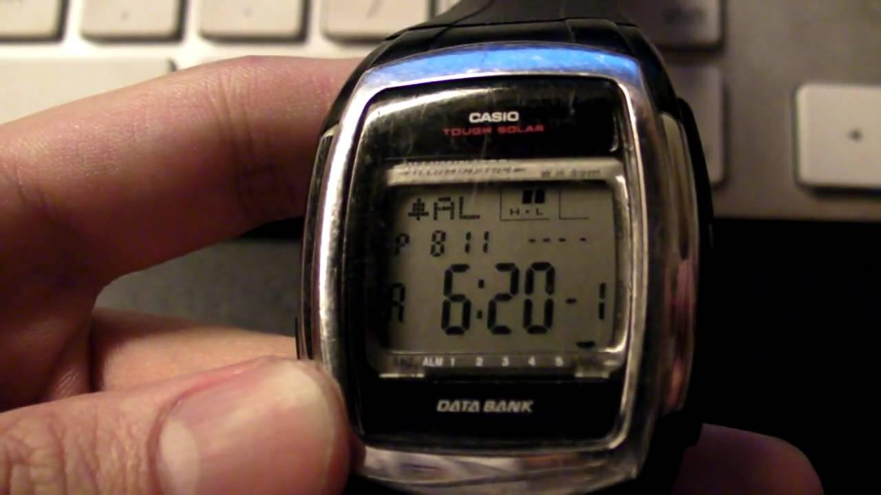 Casio db-e30d-1a устраняем периодическое обнуление времени и.