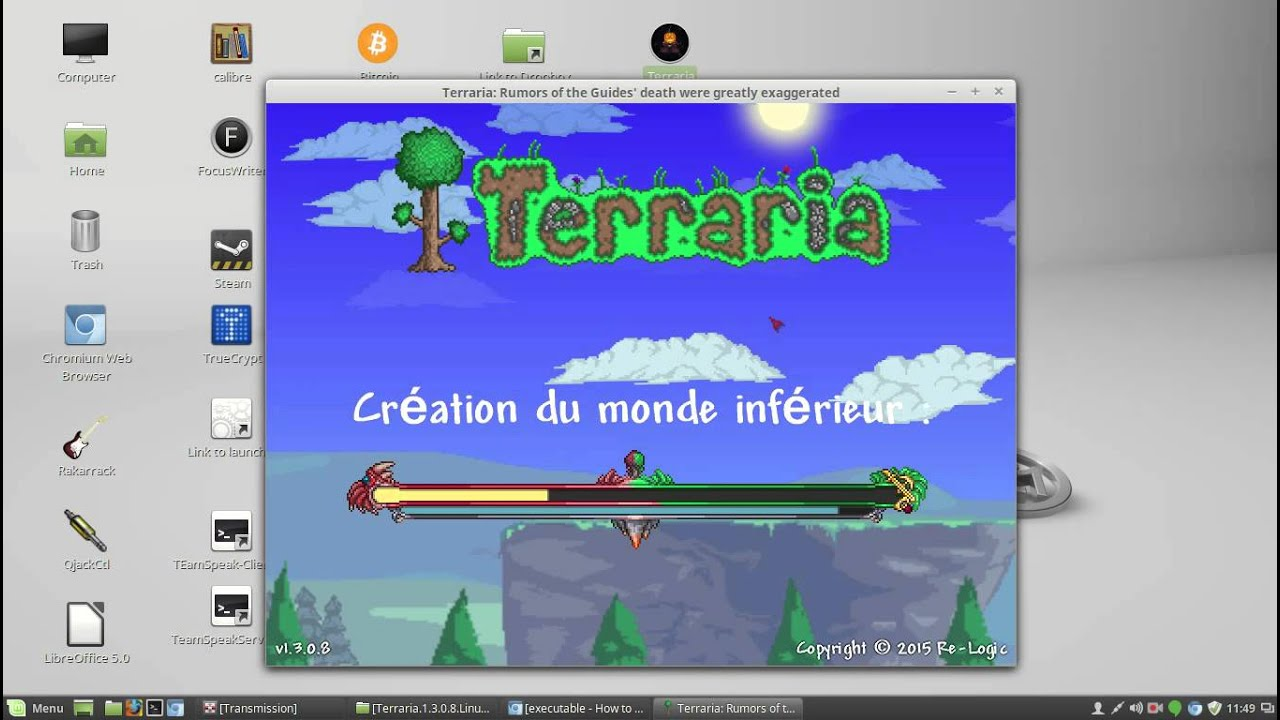 TERRARIA-linux[crack] by Skim