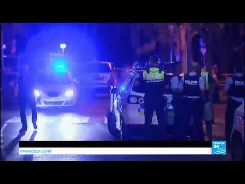 En IMAGES : 5 terroristes présumés abattus à Cambrils après une nouvelle attaque