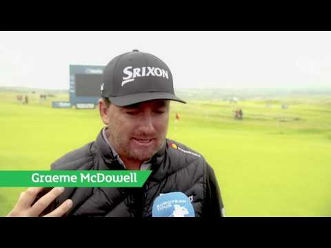 Facebook Live from the Dubai Duty Free Irish Open at Portstewart