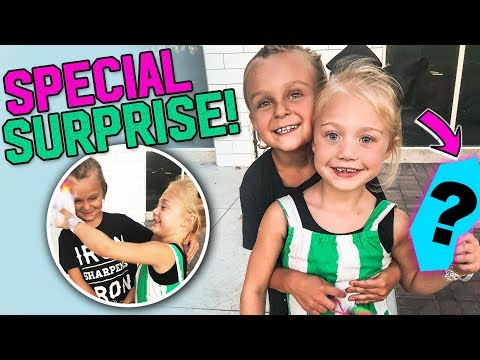 Caspian SURPRISES Everleigh with the CUTEST GIFT!! 💕(Cuteness overload) | Slyfox Family
