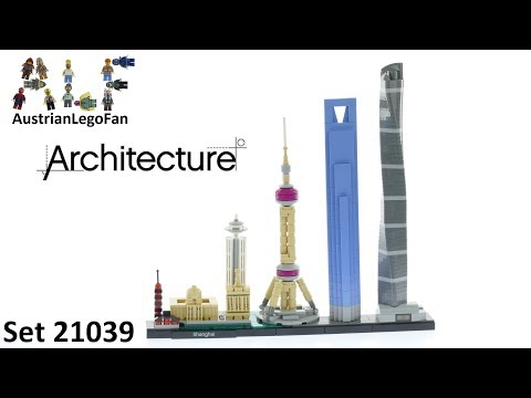 Lego Architecture 21039 Shanghai - Skyline - Lego Speed Build Review