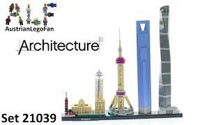 Lego Architecture 21039 Shanghai - Skyline - Lego Speed Build Review