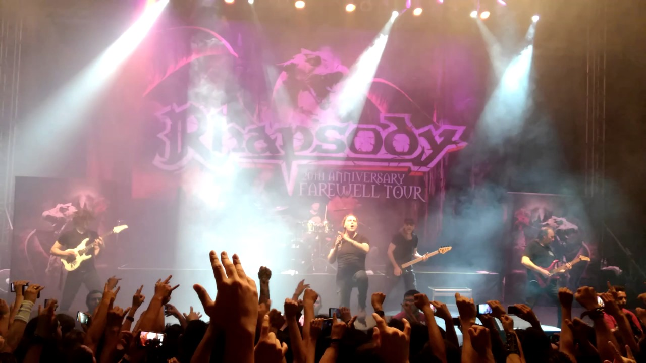 Rhapsody 20th Anniversary Farewell Tour